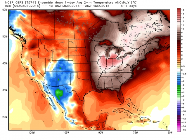 TemperatureProjectionLateDecember2015
