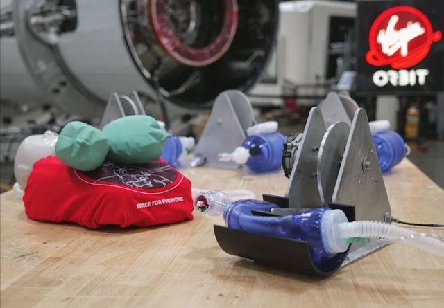 Virgin Orbit develops and designs mass producible ventilators for COVID-19 patients
